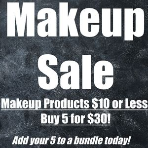 MAKEUP SALE!! LIMITED TIME ONLY!!